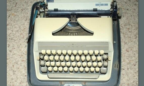 Adler J3 Vintage Typewriter Made in Western Germany