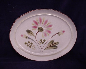 Noritake COUNTRY FAIR 8554 Oval Serving Platter 14 1/8""