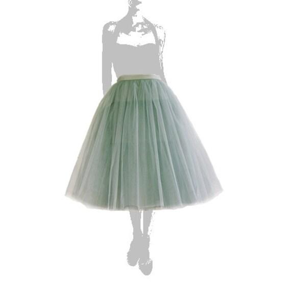 Grey tutu tulle skirt, petitcoat long, high quality tutu skirts