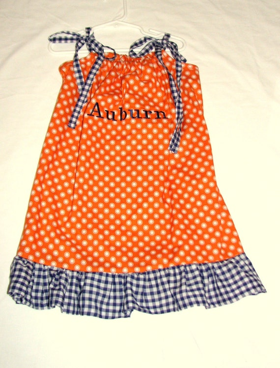 Auburn Pillowcase Dress