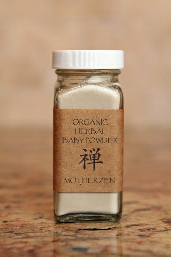 Items Similar To Organic Herbal Baby Powder Talc Free