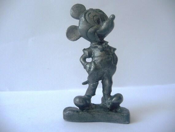 Vintage Mickey Metal Figure - RESERVED for DAN BLOCK