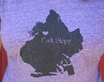Park Slope  Brooklyn Screen Printed Shirt
