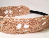"""Handmade Crochet """"Shelly"""" Headband for Women/Girls"""
