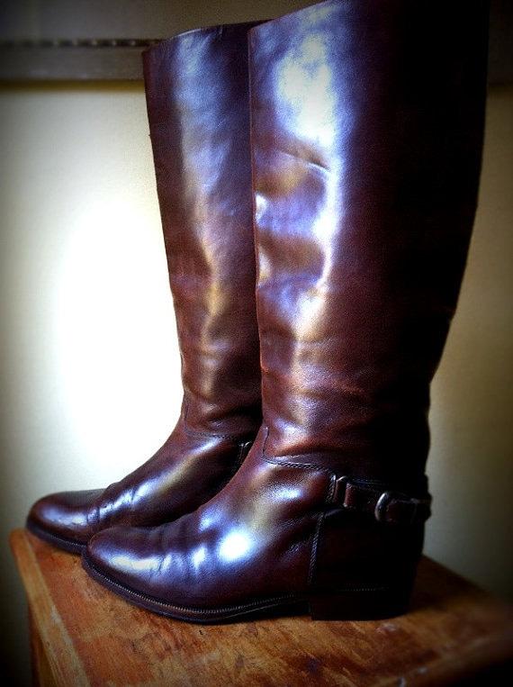 Bally Riding Boots - Women's 7.5 (38)
