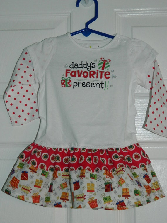 Franny christmas dress size 9 month