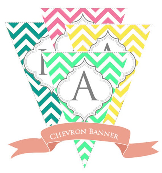 Eloquent image for free printable chevron banner minecraft