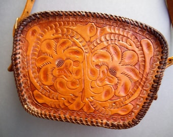 Hand-tooled Western Purse