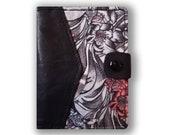 Designer Leather Card Holder - BLOOM Design