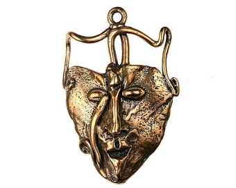 Tribal Mask (Solid Bronze)