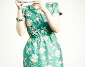 Hand Made Vintage Fabric Cotton Dress