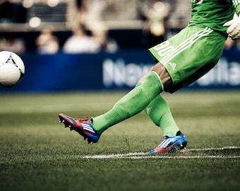 Soccer Kick - Photography --  8x12