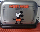 Disney Mickey Mouse Musical Toaster