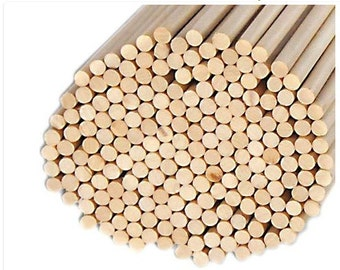 Wooden Dowels for DIY Projects 48ct