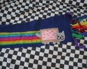 Fleece Nyan Cat Scarf