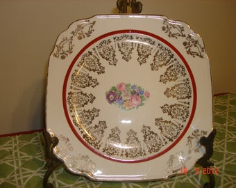 Vintage Shabby Chic China Plate - Vintage China - 1940's China Plate -  Home Decor - Cottage Chic