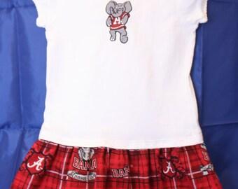 Toddler Girl's Alabama Team Spirt Dress
