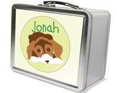 Personalized Beagle Puppy Lunchbox & Memory Box - Gifts for Boys