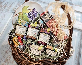 Jam Lovers Gift Basket