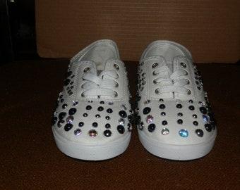 colorful gem shoes
