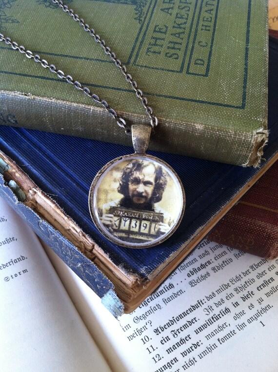 Sirius Black necklace, handmade, harry potter memorabilia