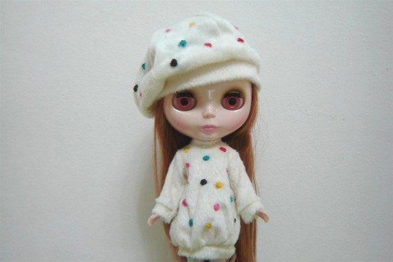 DESYSHOP Blythe Cream skirt outfit cute style