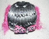 Little Girls Just Wanna Have Fun - Knit Baby Hat