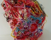 Abstract Yarn Weaving Sculpture:  Handmade by Brad