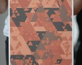 Din: Abstract Zelda Poster