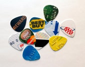 Recycled Credit/Gift Card Guitar Picks