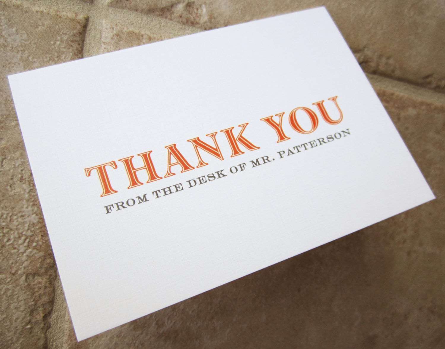 personalized thank you card gifts for teacher boss friend request a custom order and have something made just for you