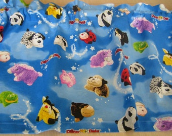"""Pillow Pets Curtain Valance 40.5"""" x 15"""" in 100% Cotton - Handmade New."""