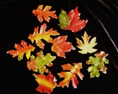Autumn Leaf Guest Soaps, Handmade, Glycerin Soap