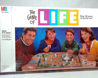 The Game of Life from Milton Bradley 1991 COMPLETE (read description)