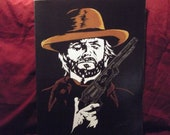 "Clint Eastwood as Josey Wales is a Limited Edition 10""x13"" numbered Print by Artist Charles Freeman"