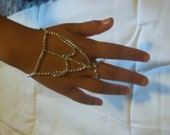 youth chain hand harness finger to wrist bracelet