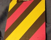 Custom striped clipboard