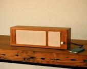 Cherry Wooden iPod Speaker, Dock, Model B