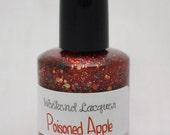 Poisoned Apple - a hand mixed glitter nail polish