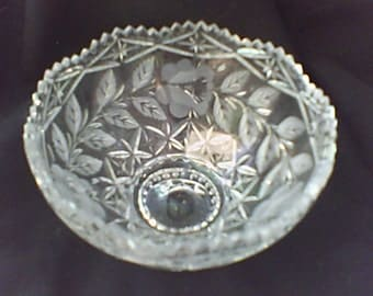 Brilliance Cut Glass Bowl