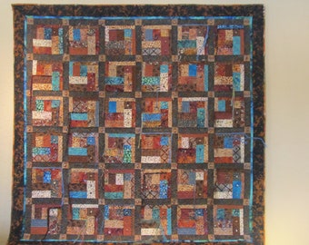 Art Quilt-  African theme- The Sumbu Thicket
