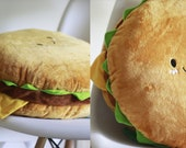 Hamburger /  Burger Plush Toys Kids