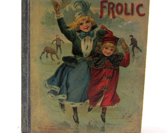 Vintage Fun and Frolic Children's Book