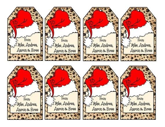christmas gift cards to print