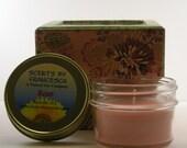 Rose 4oz Jelly Jar Candle
