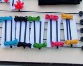 Cute colurful hairpins