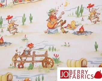 The Udder Cowboy Fabric