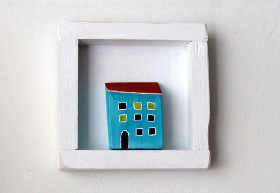 Framed wooden house - handmade