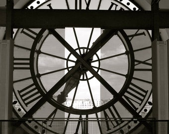 Clock at the Orsay