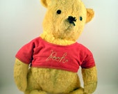 Reserved for Julie Vintage Winnie the Pooh Stuffed Bear